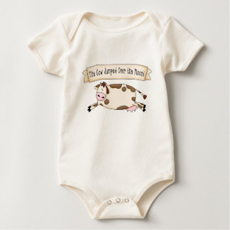 Cow Jumped Over the Moon Baby Bodysuit