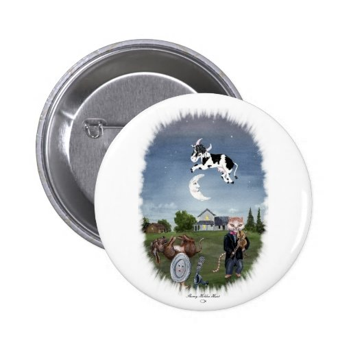 COW JUMPED OVER THE MOON PIN