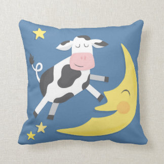 Cow Jumped Over the Moon Children's Pillow Cushions
