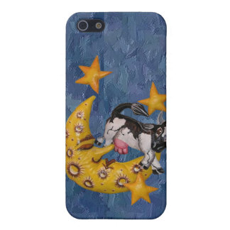 Cow jumped over the Moon iPhone 5 Cases