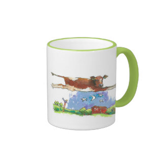 Cow jumped over the moon mug