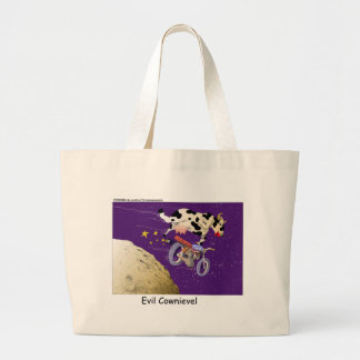Cow Jumps Moon Funny Gifts & Collectibles Jumbo Tote Bag
