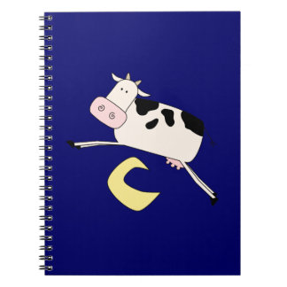 Cow Jumps Over Moon Spiral Notebook