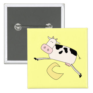 Cow Jumps Over Moon Tshirts and Gifts Buttons