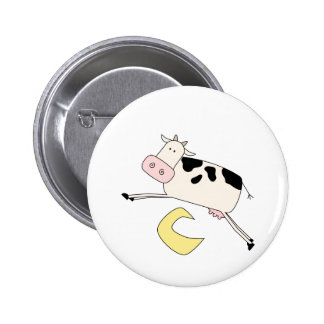 Cow Jumps Over Moon Tshirts and Gifts Pins