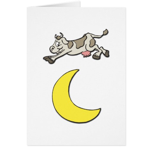 Cow Jumps Over the Moon Cards