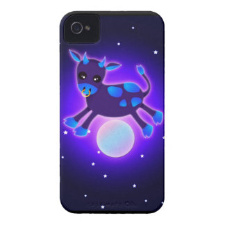 Cow Jumps Over the Moon iPhone 4 Cases