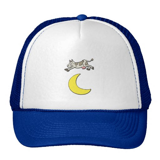 Cow Jumps Over the Moon Mesh Hats