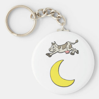 Cow Jumps Over the Moon Keychains
