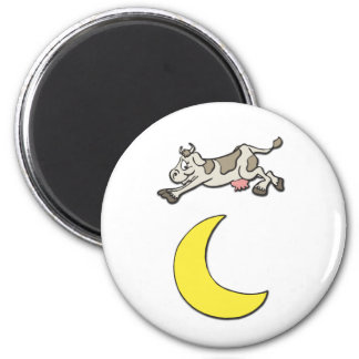 Cow Jumps Over the Moon Magnets