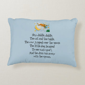 Cow Jumps the Moon Pillow