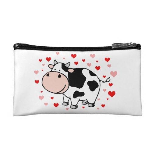 Cow Love Makeup Bag