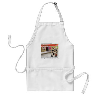 Cow Matinee Scary Moovie Funny Tees & Gifts Standard Apron