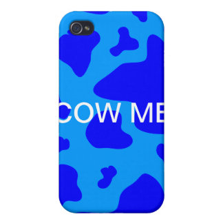 Cow me case iPhone 4/4S covers