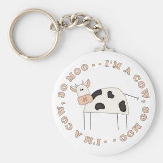 Cow Moo Key Chains