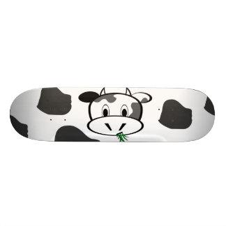 Cow Moo Skateboard Deck