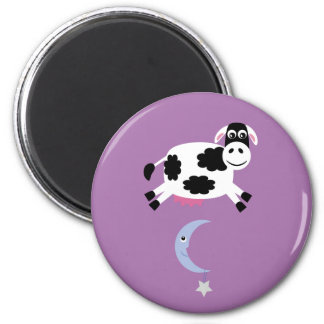 Cow & moon magnet