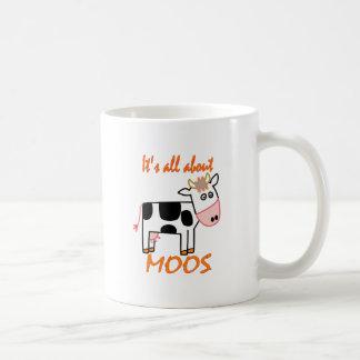 Cow Moos Coffee Mugs