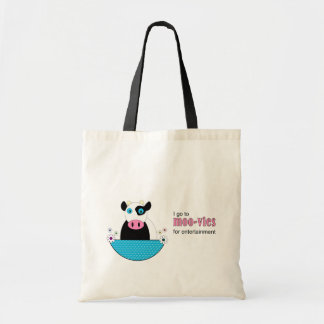 Cow Movies Tote Bag