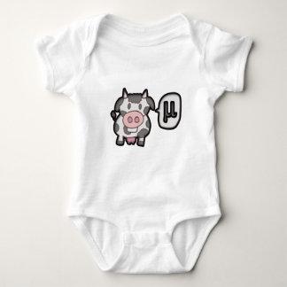 Cow MU - Cow MU Baby Bodysuit