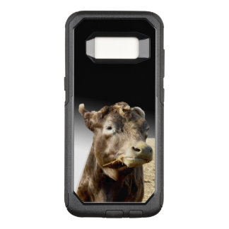 Cow Munching On Hay, OtterBox Commuter Samsung Galaxy S8 Case