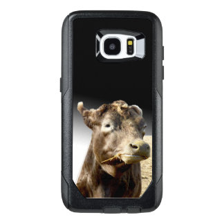 Cow Munching On Hay, OtterBox Samsung Galaxy S7 Edge Case