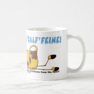 Cow on Calffeine Coffee Mug