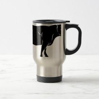 Cow or bull beef illustration mug