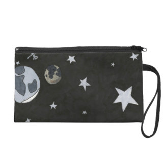 Cow Over The Moon Hand Bag Wristlet Purses