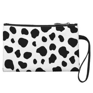 Cow Pattern Animal Print Wristlet Purses
