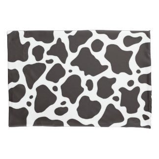 Cow pattern background pillowcase