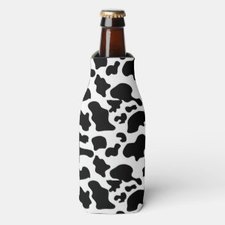 Cow Pattern Bottle Coozy Bottle Cooler
