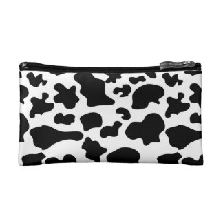 Cow Pattern Cosmetic Bag (Small)