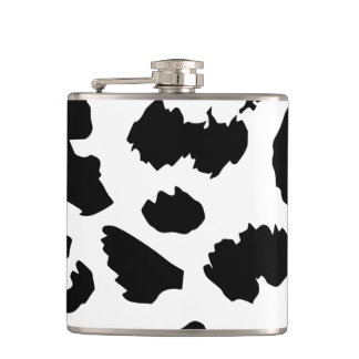 Cow Pattern Flask