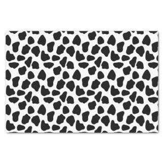 Cow pattern tissue paper