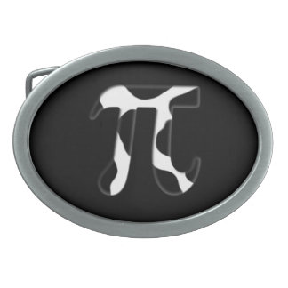 Cow Pi Oval Belt Buckle