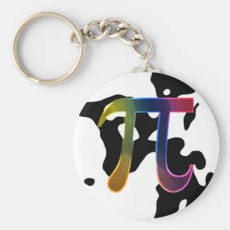 Cow PI Keychain