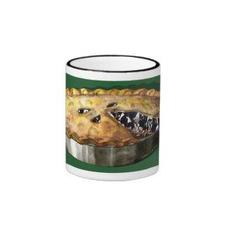 'Cow Pie' Ringer Coffee Mug