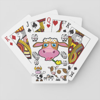 Cow Playing Card Deck