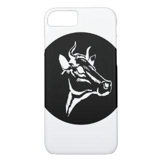 Cow portrait iPhone 8/7 case