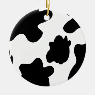 Cow Print Ornament