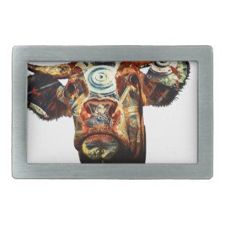 Cow Rectangular Belt Buckles