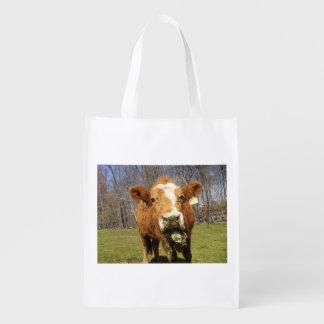 Cow Reusable Bag Grocery Bags