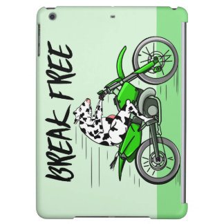 Cow Riding A Motorcyle