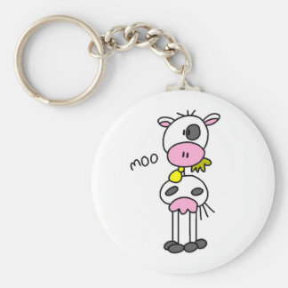 Cow Says Moo Tshirts and Gifts Key Chain