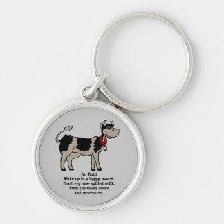 Cow Sense Keychain