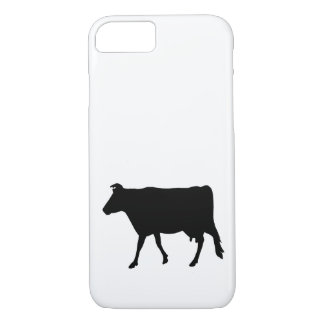 Cow Silhouette iPhone 7 Case