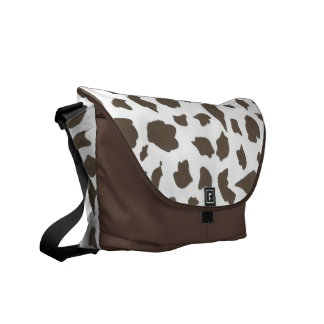 Cow Skin Courier Bag