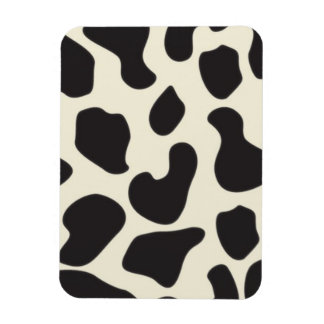 Cow Skin Cow Pattern Flexible Magnets