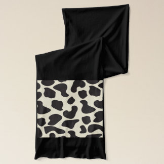 Cow Skin Cow Pattern Scarf